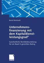 Unternehmensfinanzierung mit dem Kapital-dienstleistungsgrad®