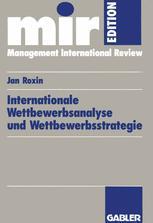 Internationale Wettbewerbsanalyse und Wettbewerbsstrategie