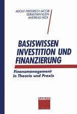 Basiswissen Investition und Finanzierung
