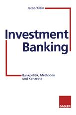 Investment Banking