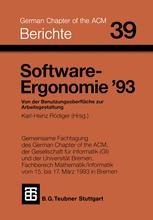 Software-Ergonomie '93