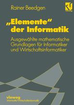 """""""Elemente"""" der Informatik"""