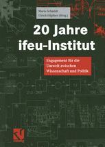 20 Jahre ifeu-Institut