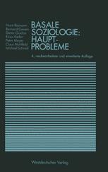 Basale Soziologie: Hauptprobleme