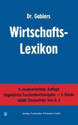 Dr. Gablers Wirtschafts-Lexikon