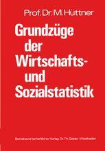 Grundzüge der Wirtschafts- und Sozialstatistik