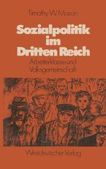 Sozialpolitik im Dritten Reich