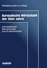 Europäische Wirtschaft der 90er Jahre