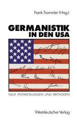Germanistik in den USA