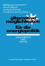 Alternative Möglichkeiten für die Energiepolitik