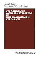 Verbandliche Wohlfahrtspflege im internationalen Vergleich