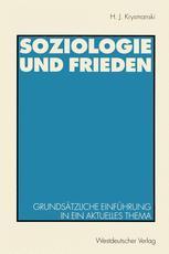 Soziologie und Frieden