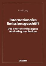 Internationales Emissionsgeschäft