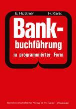 Bankbuchführung in programmierter Form
