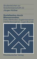 Sozialisation durch Massenmedien
