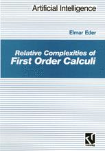 Relative Complexities of First Order Calculi
