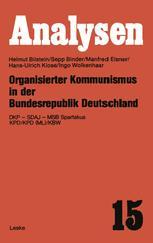 Organisierter Kommunismus in der Bundesrepublik Deutschland