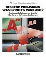 Desktop Publishing Was bringt's wirklich?