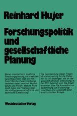 Forschungspolitik und gesellschaftliche Planung