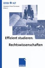 Effizient studieren: Rechtswissenschaften