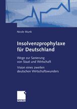 Insolvenzprophylaxe für Deutschland