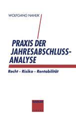 Praxis der Jahresabschlußanalyse