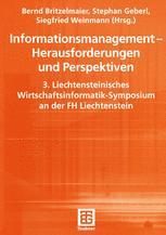 Informationsmanagement — Herausforderungen und Perspektiven