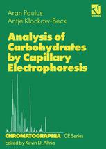 Analysis of Carbohydrates by Capillary Electrophoresis