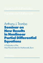Seminar on New Results in Nonlinear Partial Differential Equations
