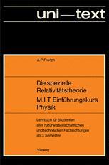 Die spezielle Relativitätstheorie M.I.T. Einführungskurs Physik
