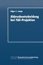 Abbruchentscheidung bei F&E-Projekten