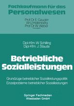 Betriebliche Sozialleistungen