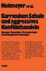 """Curriculum """"Schule und aggressives Konflikthandeln"""""""