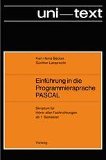 Einführung in die Programmiersprache PASCAL