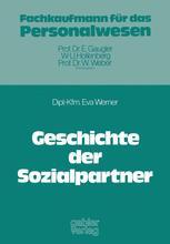 Geschichte der Sozialpartner