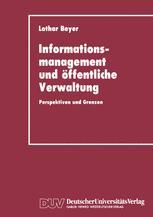 Informationsmanagement und öffentliche Verwaltung
