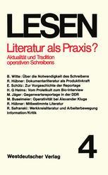 Literatur als Praxis?