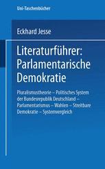Literaturführer: Parlamentarische Demokratie