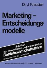 Marketing-Entscheidungsmodelle