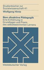 Non-direktive Pädagogik
