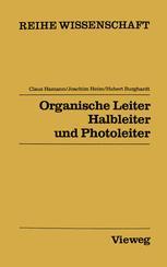 Organische Leiter, Halbleiter und Photoleiter