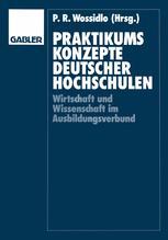Praktikumskonzepte deutscher Hochschulen