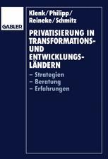 Privatisierung in Transformations-und Entwicklungsländern