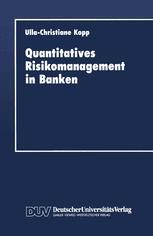 Quantitatives Risikomanagement in Banken