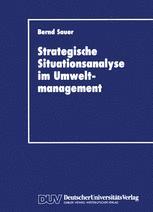 Stragegische Situationsanalyse im Umweltmanagement