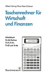 Taschenrechner für Wirtschaft und Finanzen