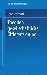 Theorien gesellschaftlicher Differenzierung