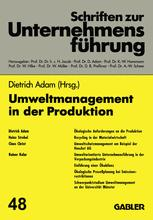 Umweltmanagement in der Produktion