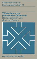 Wörterbuch zur politischen Ökonomie