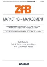 Marketing — Management